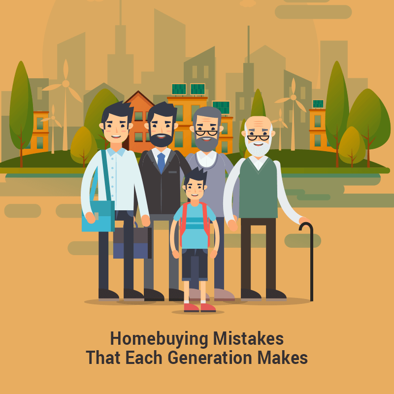 Homebuying Mistakes That Each Generation Makes