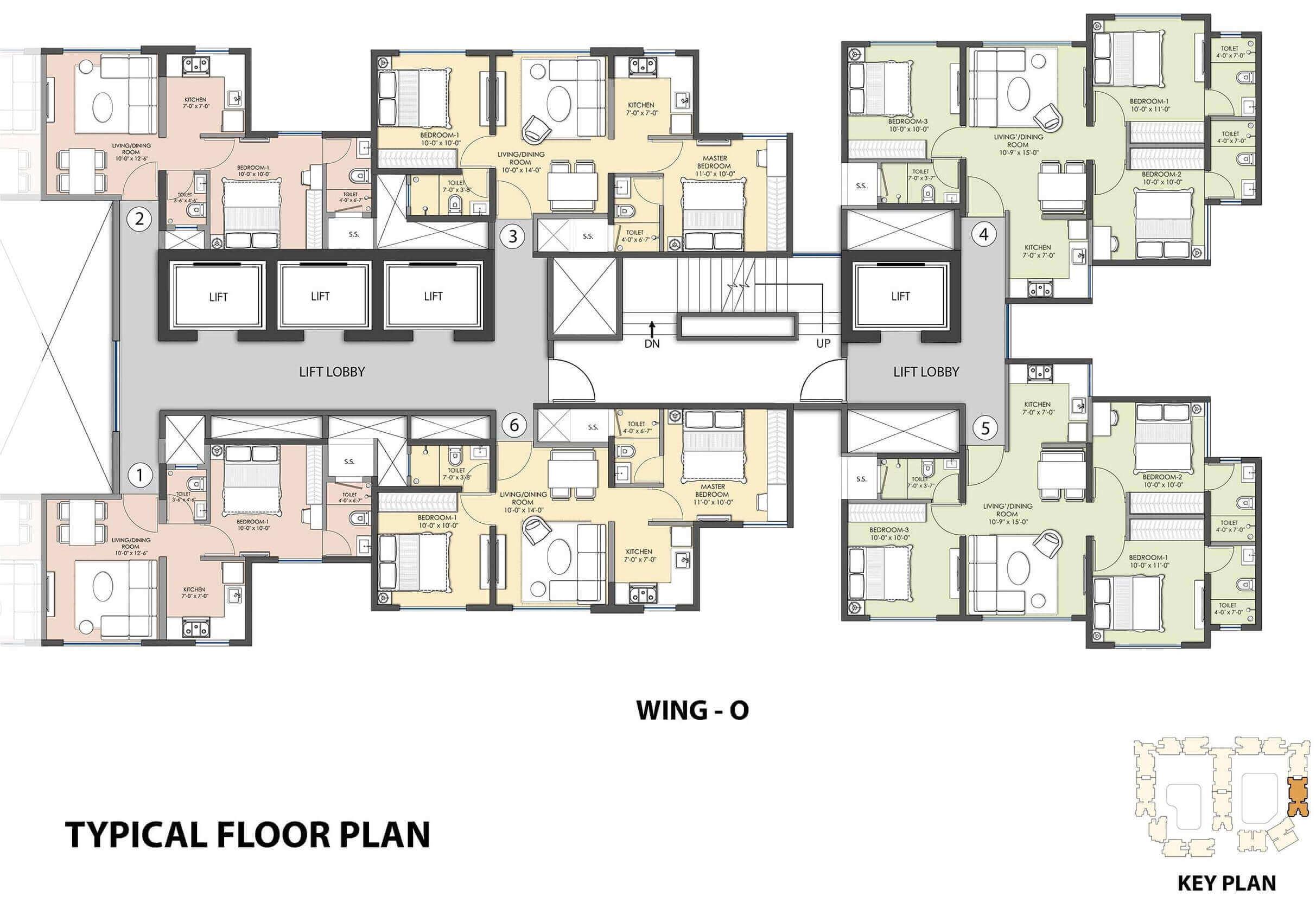 Lawns & Beyond Floor Plan