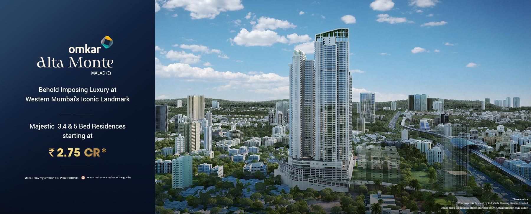 Real Estate Builders & Developers in Mumbai - Omkar™ Realtors